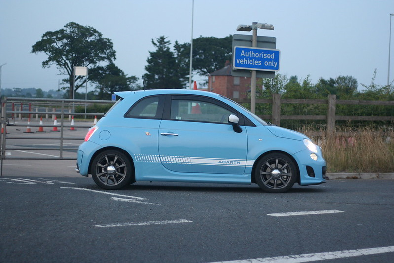 Legends Blue Abarth 500