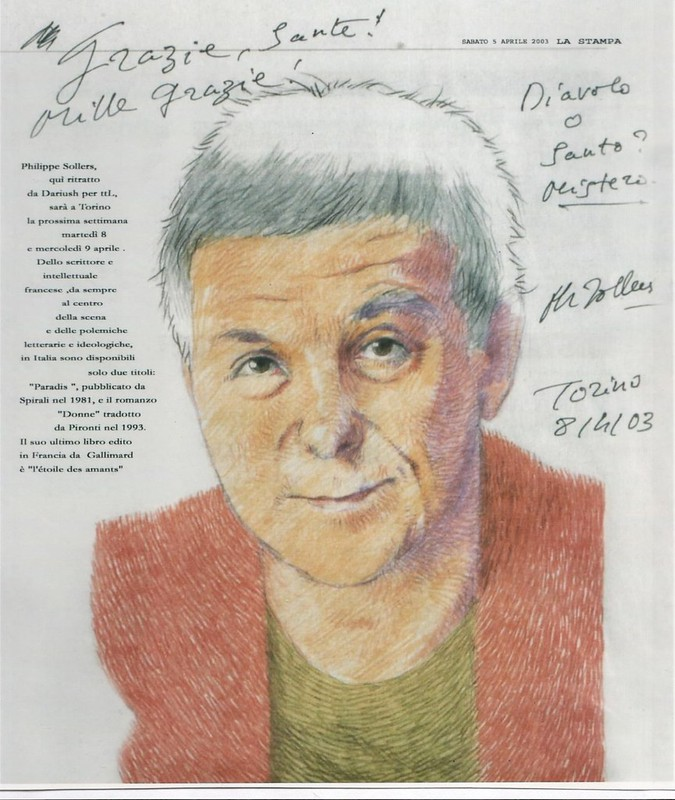 Philippe SOLLERS 2003