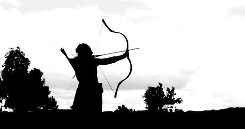 Archer silouette