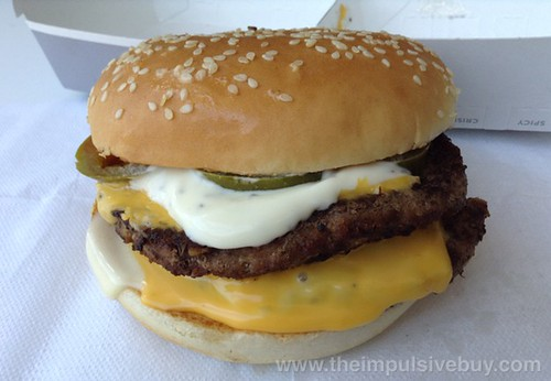 Jack in the Box Jalapeno Ranch Ultimate Cheeseburger
