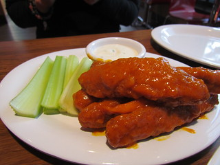 Buffalo Wings at Veggie Grill