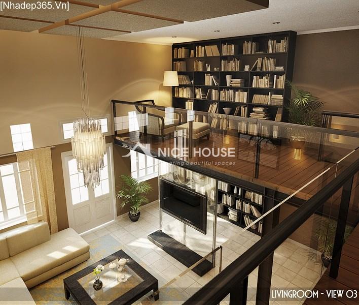 Thiết kế nội thất căn hộ Hàng Trống - Hà Nội_05