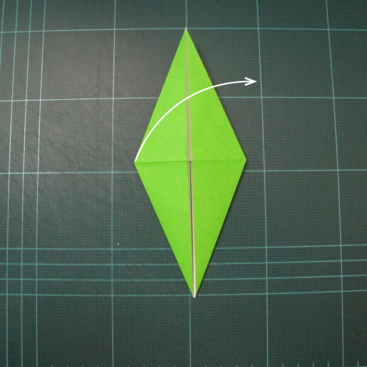 วิธีพับกระดาษเป็นรูปหอยทาก (origami Snail) 005