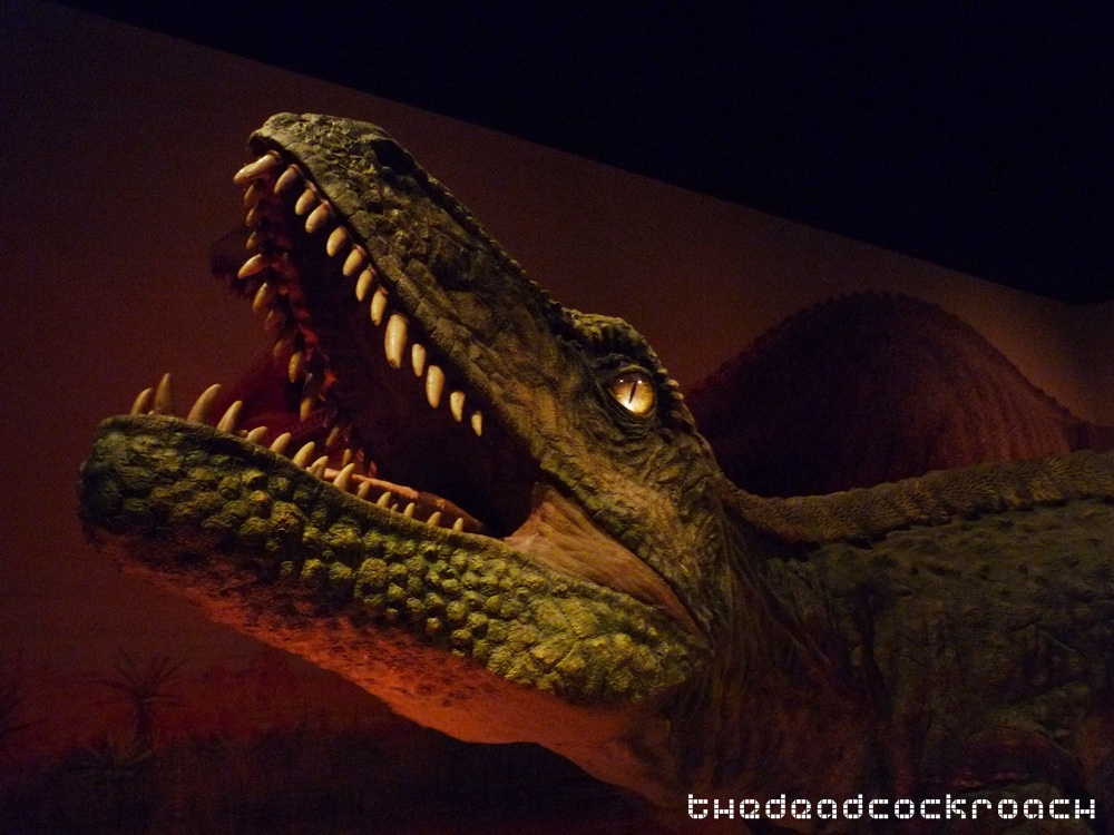 artscience museum, dawn to extinction, dinosaurs, exhibition, marina bay sands, mbs, singapore,fasolasuchus