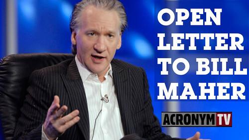 bill-maher open letter