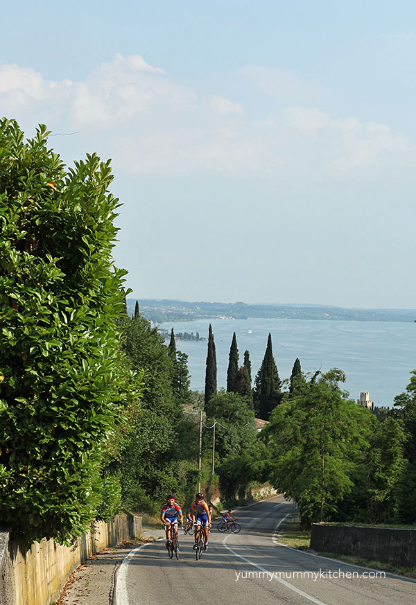 cycling lake garda
