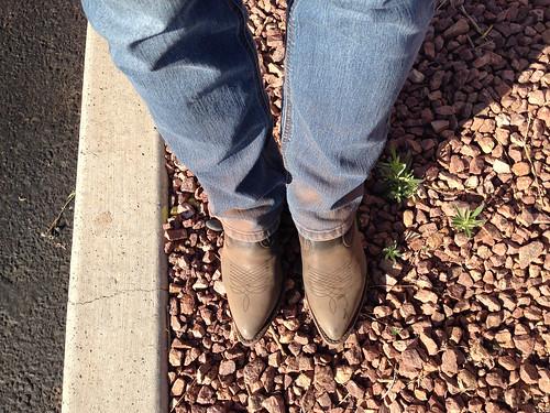 Rez dust boots