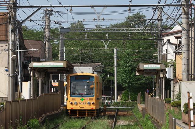 Tokyo Train Story 都電荒川線 2014年7月12日