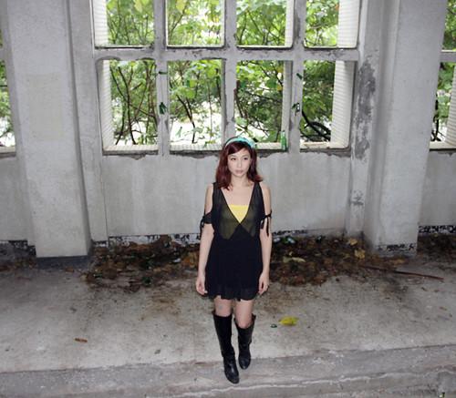 2013 10 05 新北市.樹林.廢墟.蕭莫莫.攝影