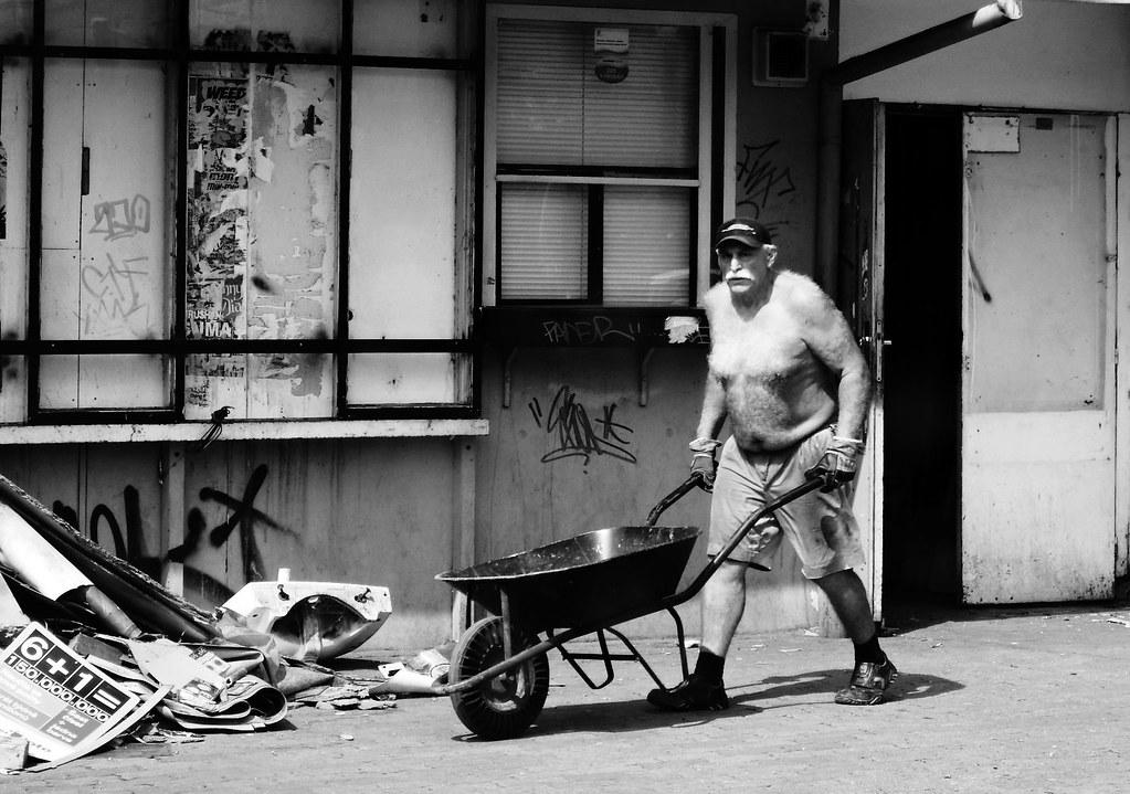 Worker on Demolition Site 3