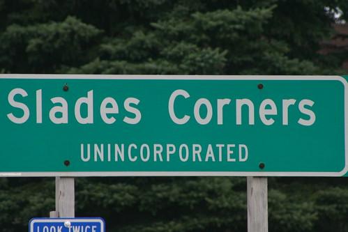 Slades Corners, Wisconsin