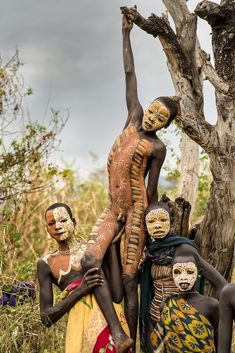 colors of Surma... Surma tribe - Ethiopia