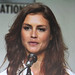 Small photo of Agent 47 panel - actress Hannah Ware