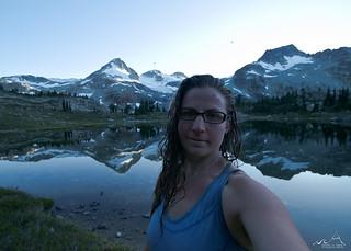 Summit, Skinny-dip, Selfie, Satisfied