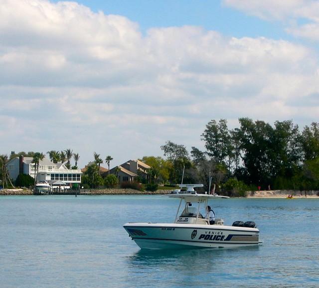Police boat