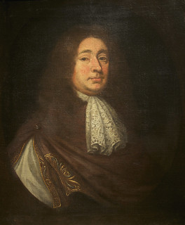 Muscarelle Museum of Art: Portrait of Robert Bolling (1646-1709), oil on canvas