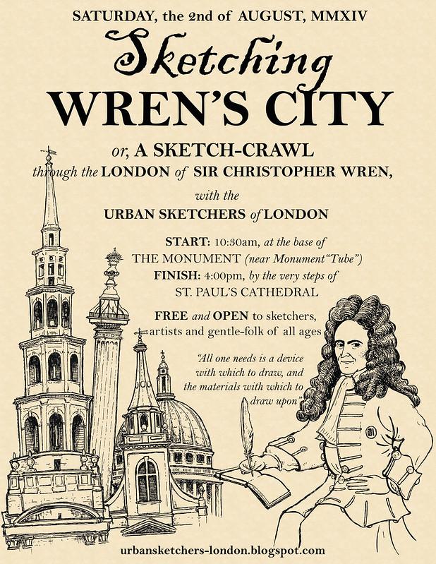 Sketching Wren's City
