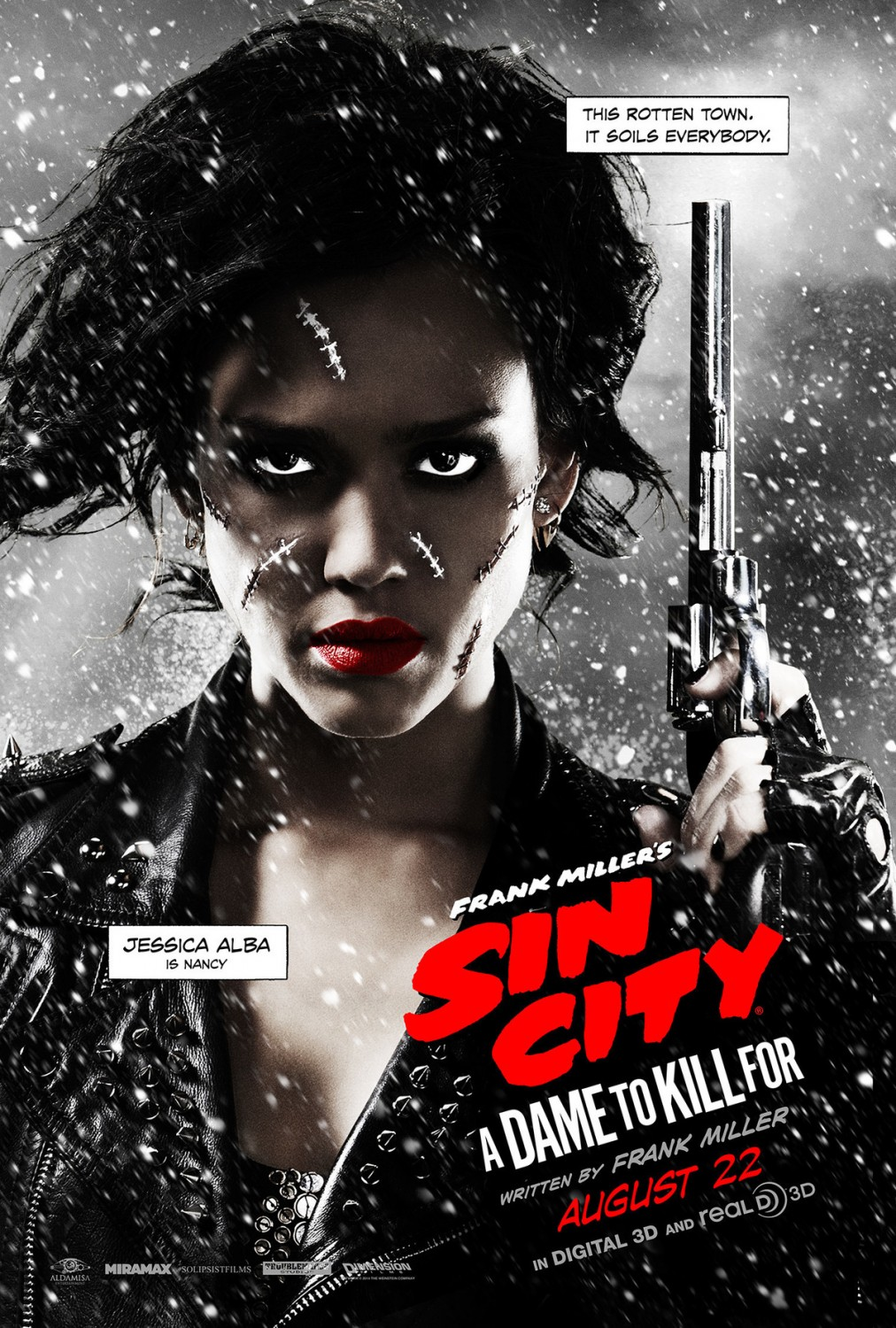 Sin CIty a dame to kill for jessica alba poster