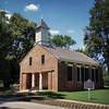 The Old Brick Church in Mooresville, Alabama was built in 1839, which is very old. However, it's a youngster compared to the town of Mooresville, which was incorporated in 1818. It's older than the state of Alabama.