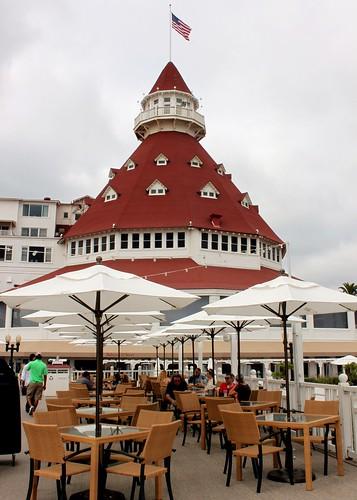 Hotel Del Coronado Deck