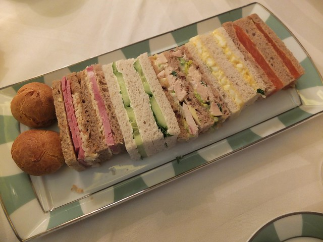 Claridge's Tea Sandwiches
