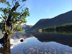 Sunset on Crummock
