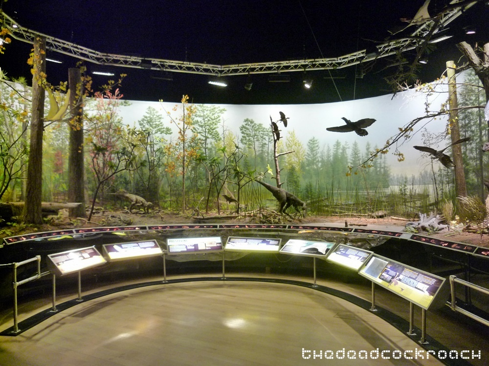 artscience museum, dawn to extinction, dinosaurs, exhibition, marina bay sands, mbs, singapore,liaoning,diorama