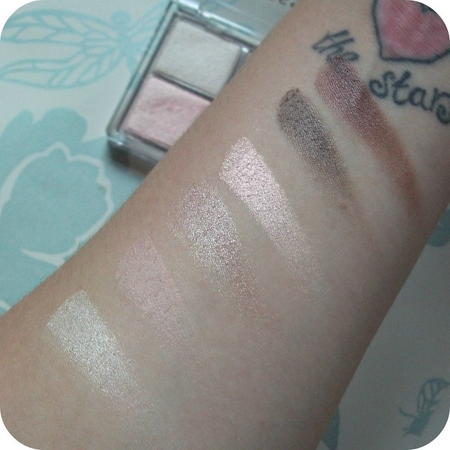Essence All About Nude Eyeshadow Swatches