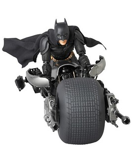 MEDICOM  MAFEX Batpod 蝙蝠機車