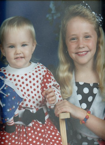 Britt & Carissa-polka dots anyone