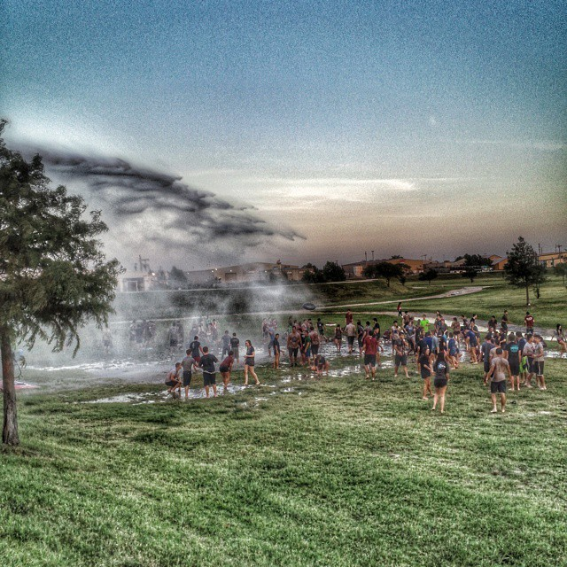 Mud Night at #metrochristianacademy #tulsa #oklahoma #igersok fun fun fun! #snapseed