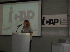 Tamara Bellisario, IFA speaks about ICAP (3)
