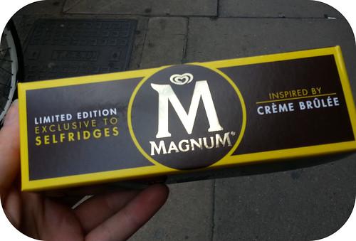 Magnum Creme Brulee
