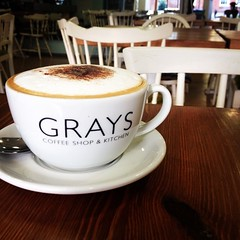 Award-winning coffee from Grays