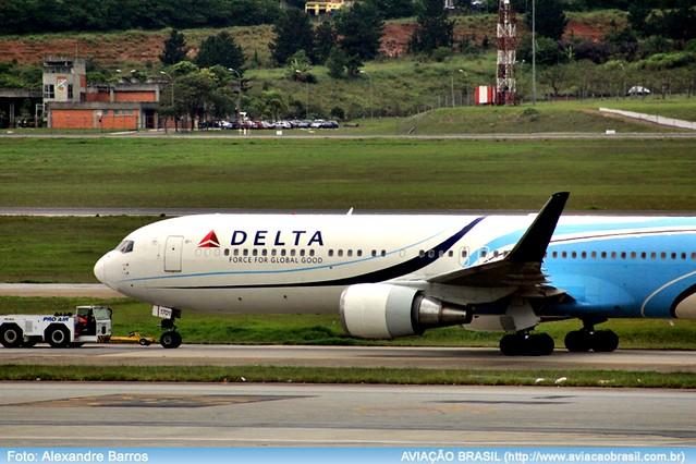 , Delta Air Lines comemora cinco anos de Brasília, Portal Aviação Brasil