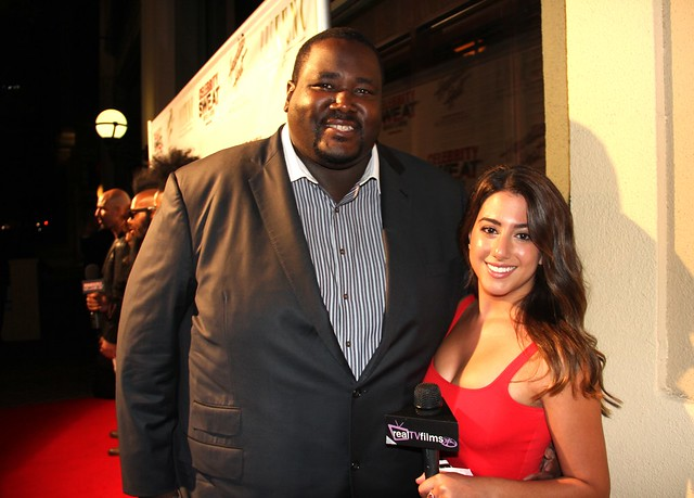 Quinton Aaron, Nicole Brajer, Celebrity Sweat, ESPY Awards Party
