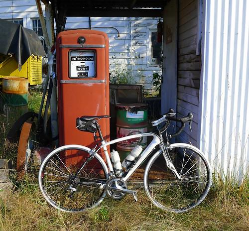 my bike with gas pump Washington Cascades_0365