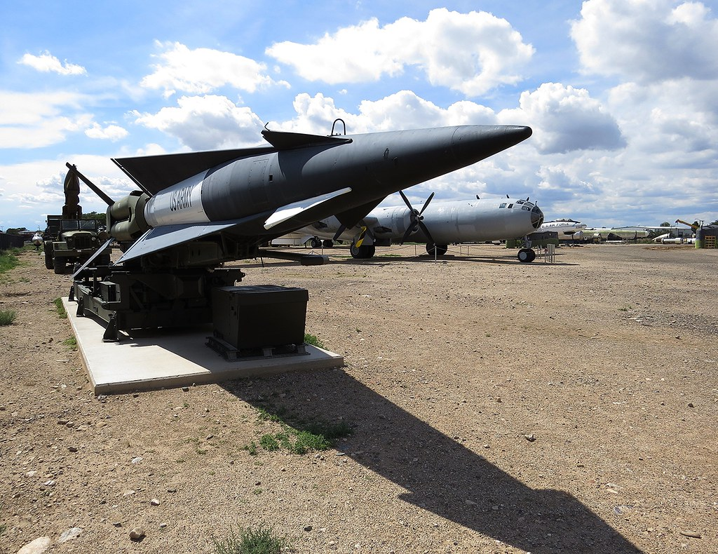 MIM-14 Nike-Hercules   National Museum of Nuclear Science & History.     Albuquerque, New Mexico  2ag14_839