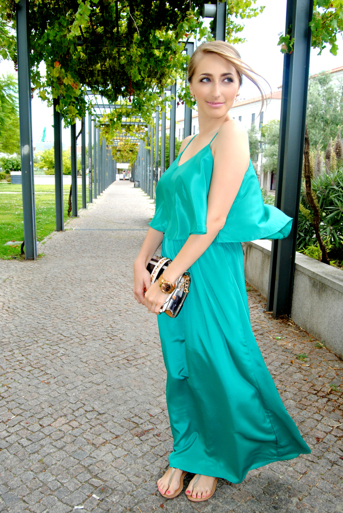 Turquoise Dress (2)
