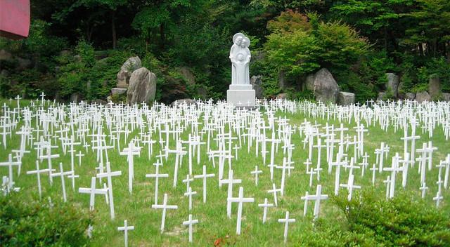 Cementerio de niños abortados de Kkotdongne