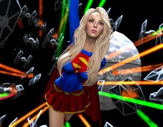Damned Genre Mixing Supergirl!!!