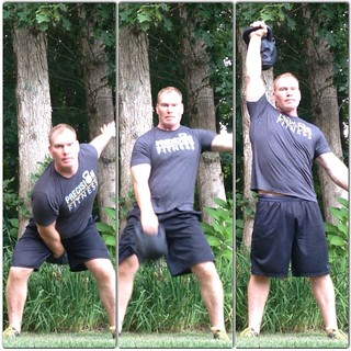 Practicing the A,B,C's of the Tactical Strength Challenge:  A - Absolute Strength with the Dead Lift B - Bodyweight relative Strength with Pull Ups C - Cardiovascular endurance with Kettlebell Snatches  Get some!  BOOM!! #precisionfitness #strongfirst #ts