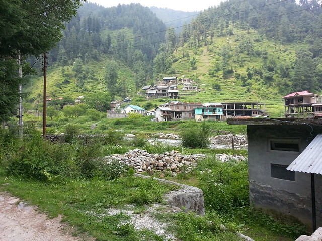 Multhan village near Barot