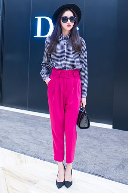 Mê mẩn áo kẻ sọc/ngang Nữ, Sơmi kẻ Hàn Quốc tuyệt đẹp 1