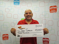 Jose Garcia - $3,000 Hot Lotto