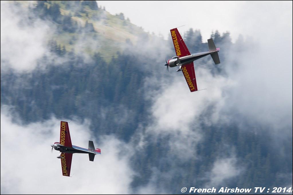 Adrenalinflights www.voltige-aerienne.fr Equipe de Voltige de l'Hérault Languedoc Roussillon show aerien Courchevel 2014