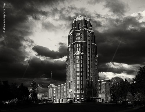 Stormy over Buffalo Central Terminal
