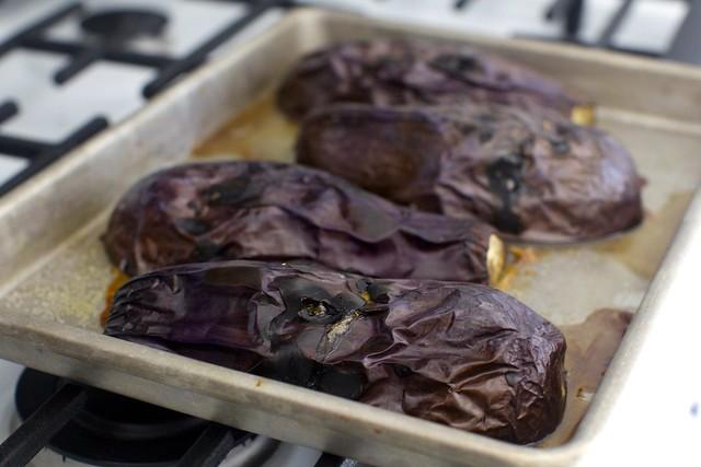 roasted eggplant