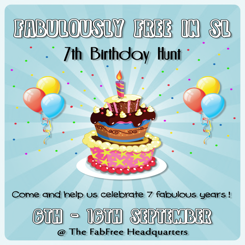 FabFree 7th Birthday Hunt