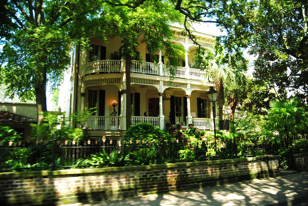 a Savannah home